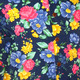 Shortsl. Super-Bright Flowers navy
