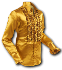 Ruche Satin-Gold