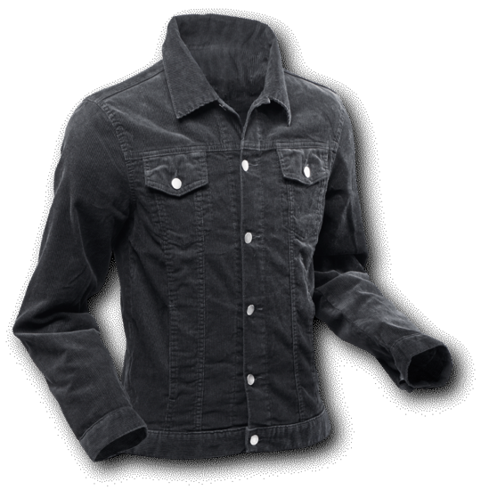 Jacket Corduroy Black