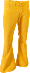 Corduroy Mustard Regular Length