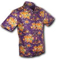 Shortsl. Flowers violet-orange