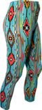 Leggings American Indian turquoise