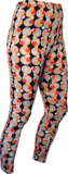 Leggings Dots grey, orange, black